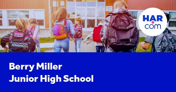 Berry Miller Junior High School Pearland Tx Har Com